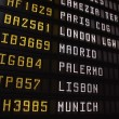 Stock Photo: Departures