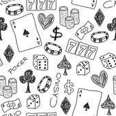 Juego doodle — Vector de stock