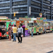 Stock Photo: Food trucks, New York