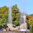 Fountain of Neptune — Foto Stock