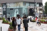People shop in Omotesando district on May 9, 2012 in Tokyo. — Stock Photo