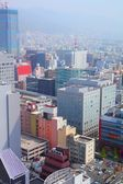 Aerial view of the city on April 24, 2012 in Kobe, Japan. — Stock Photo