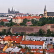 Prague skyline, Czech Republic. Part of UNESCO World Heritage Site. — Stock Photo #33536101