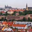 Stock Photo: Prague skyline, Czech Republic. Part of UNESCO World Heritage Site.