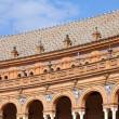 Famous architecture at Plaza de Espana, Sevilla, Spain — Stock Photo