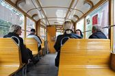 Historic tram in Poland — Stock Photo