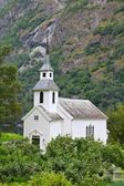 Norway, Church in Bakka. — Stockfoto