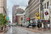 View along famous Euclid Avenue — Stock Photo
