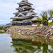 Stock Photo: Matsumoto Jo castle, designated as National Treasure of Japan.