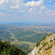 Romania landscape — Stock Photo