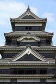 Matsumoto Jo castle, designated as National Treasure of Japan. — Stock Photo