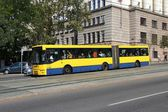 Belgrade bus — Stock Photo