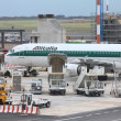 Airbus A321 of Alitalia — Foto Stock