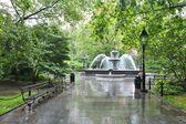 City Hall Park, New York — Stock Photo