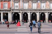 Plaza Mayor square — Foto de Stock