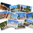 Madrid postcards — Stock Photo