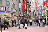 Shinjuku district, Tokyo — Stock Photo