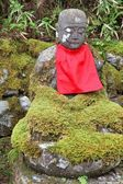 Jizo statue at Kanmangafuchi — Stock Photo