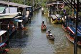 Marché flottant de damnoen saduak — Photo