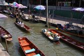 Thailand floating market — Foto de Stock