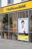 Raiffeisen Bank, Hungary — Stock Photo