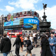 Piccadilly Circus — Stock Photo