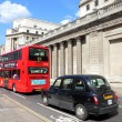 London bus and taxi — Stock Photo #35299899
