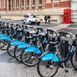 London bicycles — Stock Photo