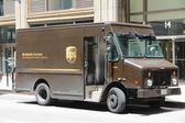 UPS truck — Stock Photo