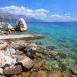 Adriatic coast — Foto Stock