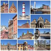 Malmo collage — Stock Photo