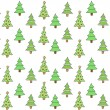 Christmas tree background — Stock Vector