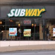 Stock Photo: Subway sandwich shop