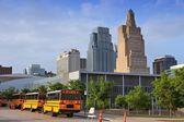 Kansas City skyline — Stock Photo