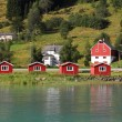 Village in Norway — Stock Photo