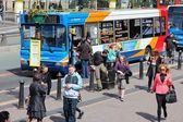 Public bus in Liverpool — Stock Photo