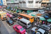 Bangkok congestion — Stock Photo
