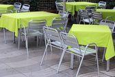 Restaurant in Barcelona — Stock Photo