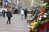 Ramblas, Barcelona — Stock Photo