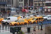 New York rain — Stock Photo