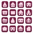 Home icons — Vector de stock #38841285