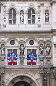 Paris City Hall — Stock Photo