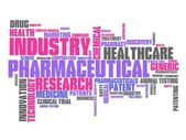Pharmaceutical industry — Stock Photo