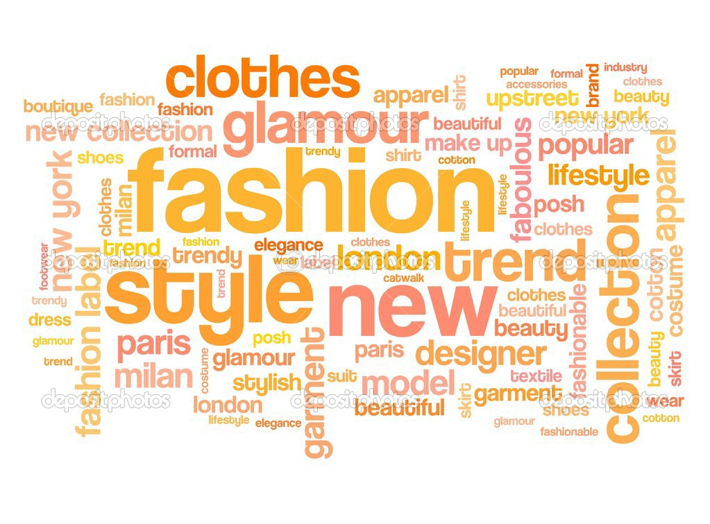 Fashion Tag Cloud Stock Photo Tupungato 39116901