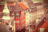 Centro storico di copenaghen — Foto Stock