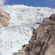 Norway glacier — Stock Photo