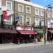London - Camden Town — Stock Photo