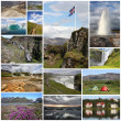Stock Photo: Iceland collage