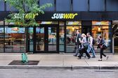 Chicago Subway store — Stock Photo