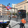 Metro in Madrid — Stock Photo #40102885